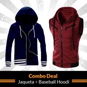 Combo Deal ( Jaqueta + Baseball Hoodie )