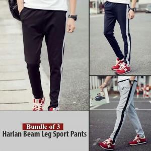Bundle Of 3 Harlan Beam Leg Sport Pants
