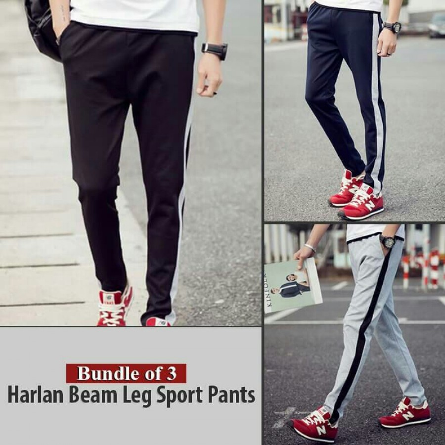 Bundle Of 3 Harlan Beam Leg Sport Pants