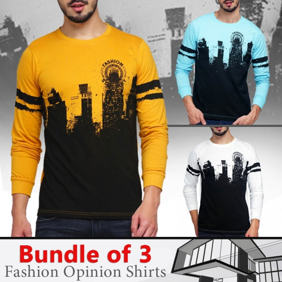 Bundle Of 3 ( Fashion Opinion Shirts )