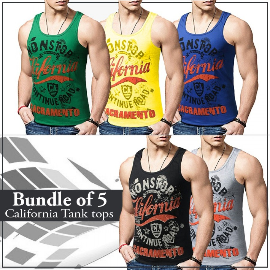 Bundle of 5  California Tank tops