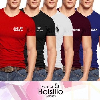 Pack Of 5 Boisillo T-Shirts