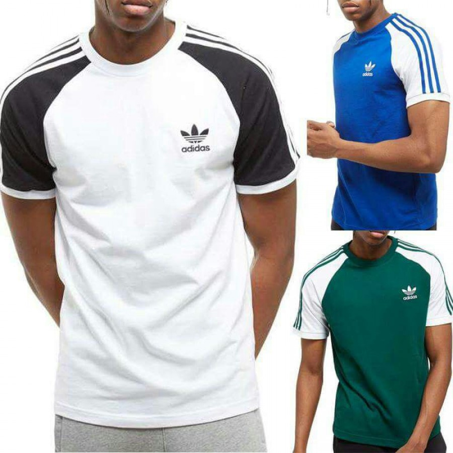 Pack of 3 Round Neck Half Sleeves Raglaan striped AAA T-Shirt