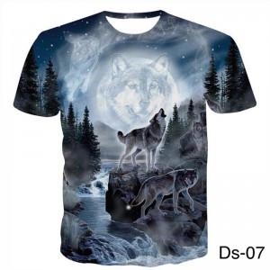 3D- Design Shirt -Ds-07