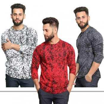 Pack of 3 stained t shirts