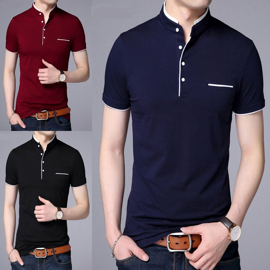 Pack of 3 Half Sleeves Decent T-shirts
