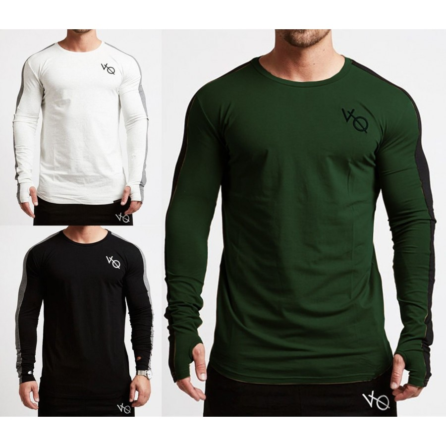 PACK OF 3 VO Long sleeves thumb hole shirts
