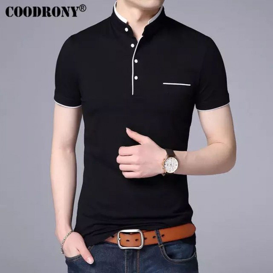 Pack of 3 Mandarin Collar T-shirt