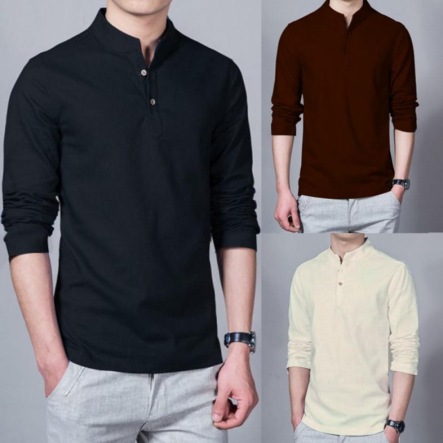 Pack Of 3 Summer Designer Shirts