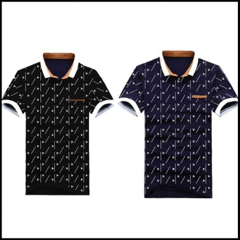 Pack of 2 Half Sleeves Polo printed T-Shirt