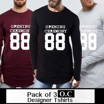 Pack of 3 OC Designer T-shirts