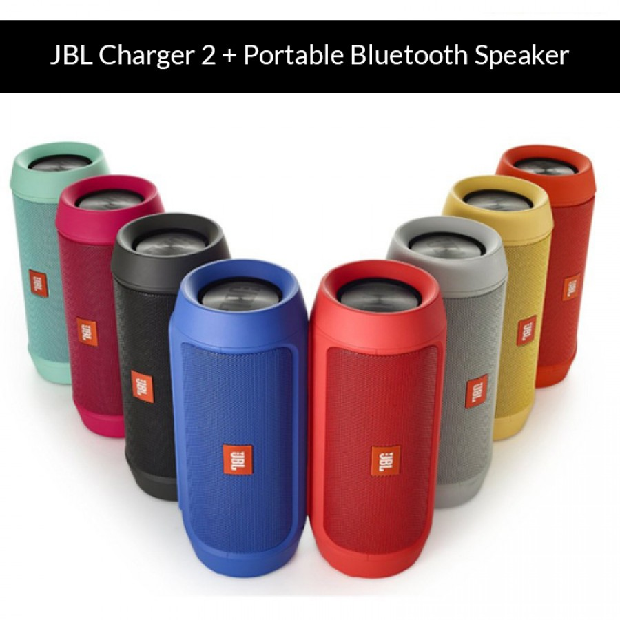 JBL Charger 2 + Portable Bluetooth Speaker