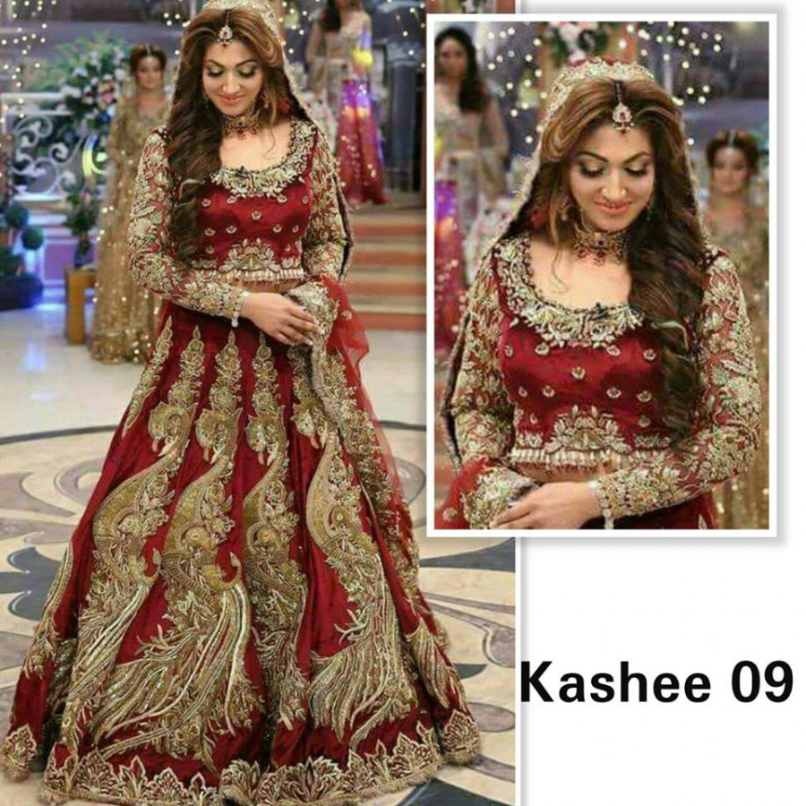 Designer Embroidered 3 piece Suit  (Kashee 09)