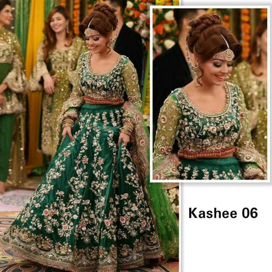 Designer Embroidered 3 piece Suit  (Kashee 06)