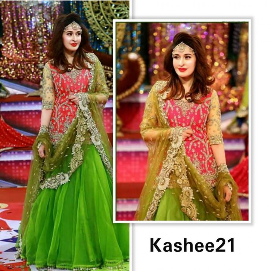 Designer Embroidered 3 piece Suit  (Kashee 21)
