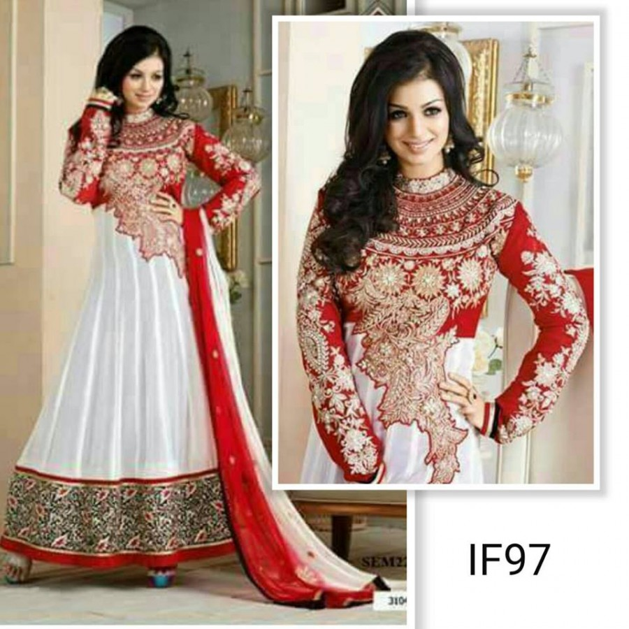 Designer Embroidered 3 piece Suit  (IF97)