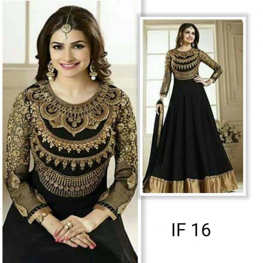 Designer Embroidered 3 piece Suit  (IF 16)