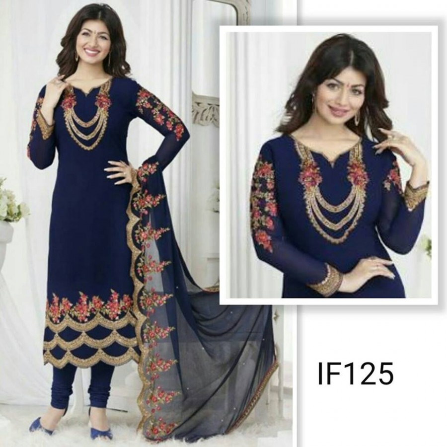 Designer Embroidered 3 piece Suit  (IF 125)