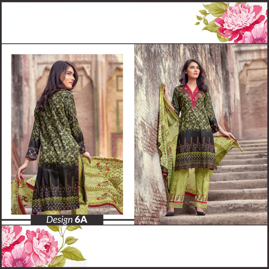 Al-Zohaib Monsoon Lawn Collection (Design 6-A)