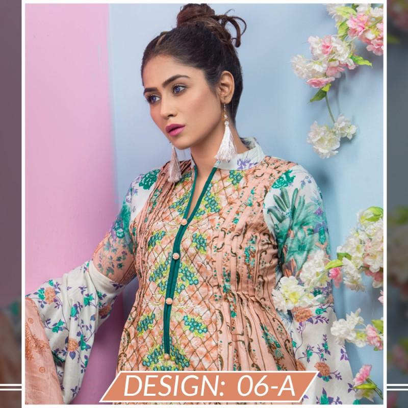 23f5c369f5 Unstitched Fabric for Women : Maya Ali EMBROIDERED Lawn 2018 (Vol 1 ...