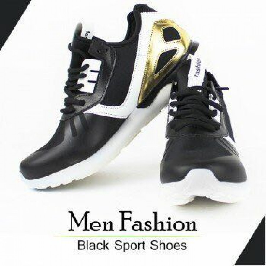 Men Fashion Black Sport Shoes