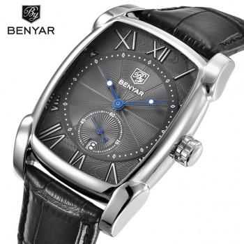 Benyar Brand Luxury Men's Watch Date 30m WaterProof Clock Male Casual Quartz Watches Men Wrist Sport Watch Erkek Kol Saati