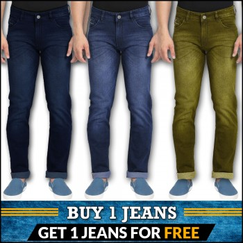 Buy 1 jeans get 1 jeans free