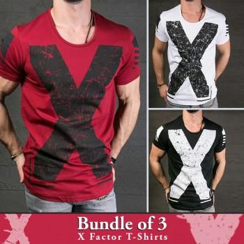 Bundle of 3  X Factor T-Shirts