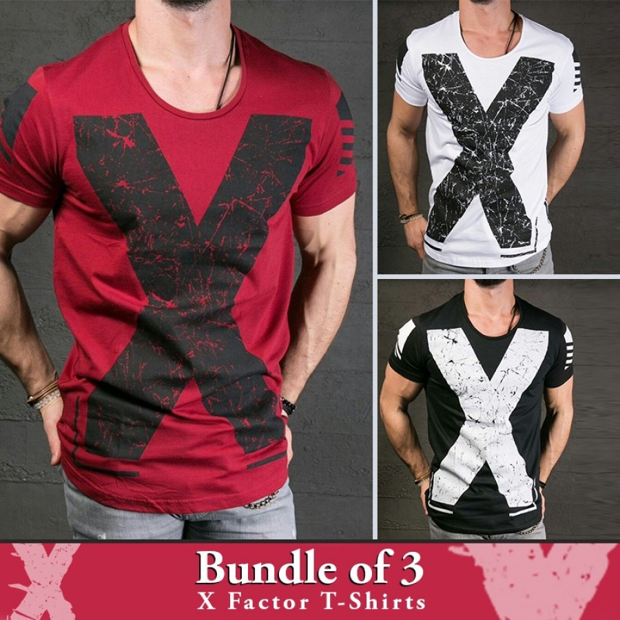 Bundle of 3  X Factor T-Shirts