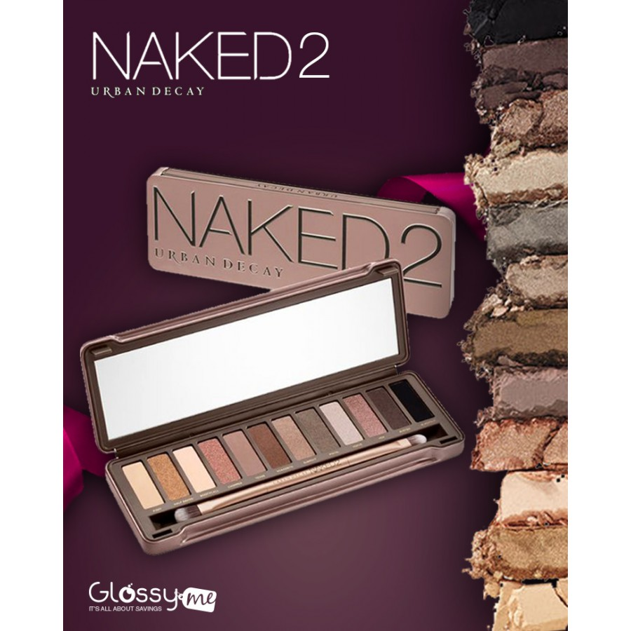 NAKED 2 URBAN DECAY EYE SHADOW MAKEUP KIT