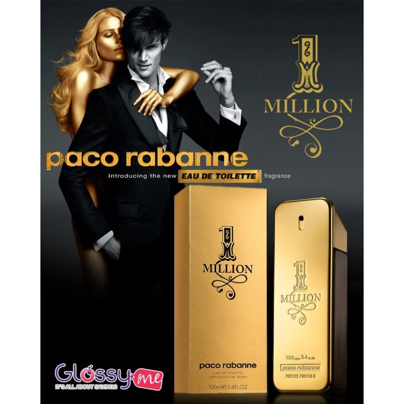 1 MILLION BY PACO RABANNA
