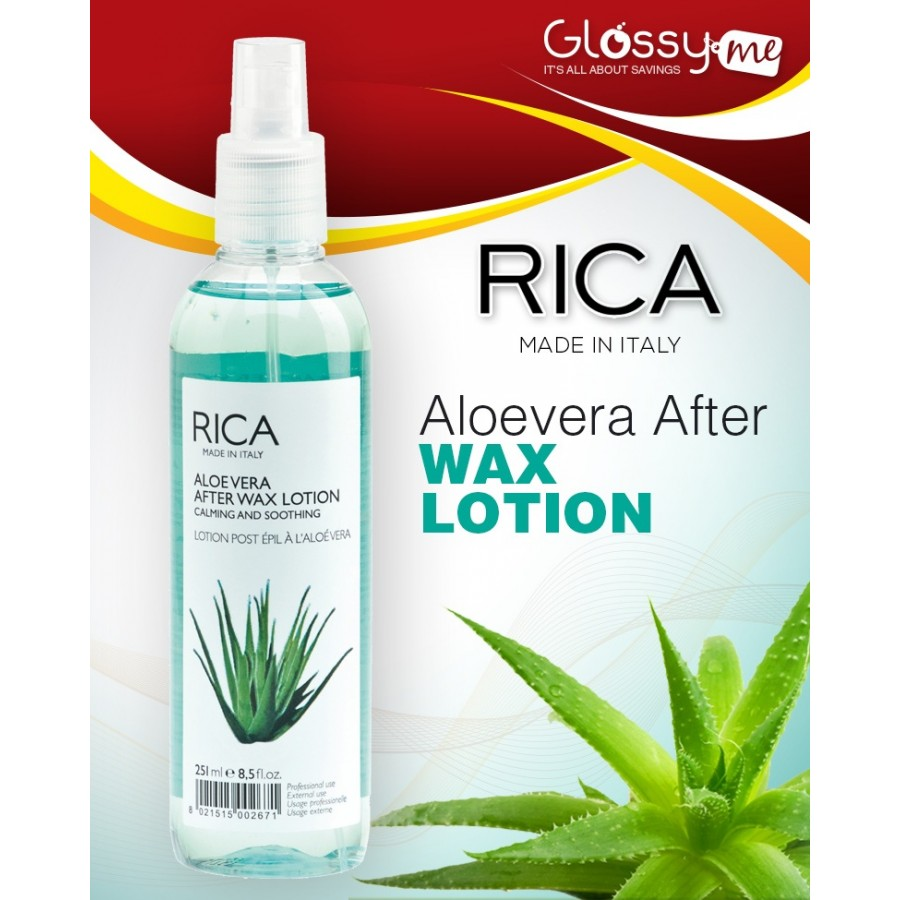 ALOE VERA AFTER WAX LOTION