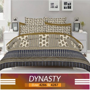 3 piece King Size Bed sheet  ( D.no:4286 to 4287 )