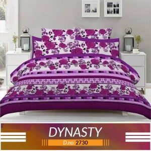 3 piece King Size Bed sheet  ( D.no:2730 )