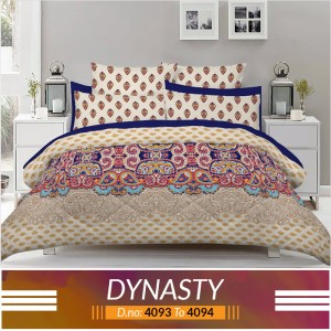 3 piece King Size Bed sheet  ( D.no:4093 to 4094 )