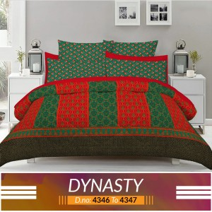 3 piece King Size Bed sheet  ( D.no:4346 to 4347 )
