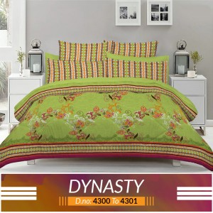 3 piece King Size Bed sheet  ( D.no:4300 to 4301 )