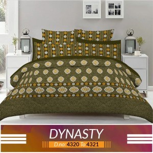 3 piece King Size Bed sheet  ( D.no:4320 to 4321 )