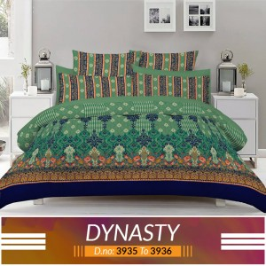 3 piece King Size Bed sheet  ( D.no:3935 to 3936 )
