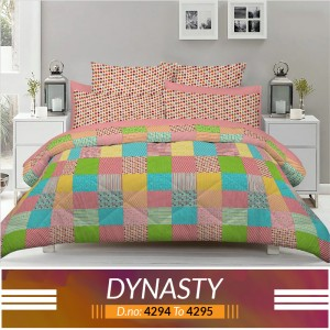 3 piece King Size Bed sheet  ( D.no:4294 to 4295 )