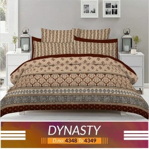 3 piece King Size Bed sheet  ( D.no:4348 to 4349 )