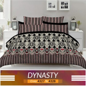 3 piece King Size Bed sheet  ( D.no:4327 to 4328)