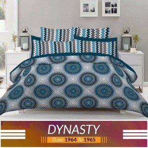 3 piece King Size Bed sheet  ( D.no:1964 to 1965)