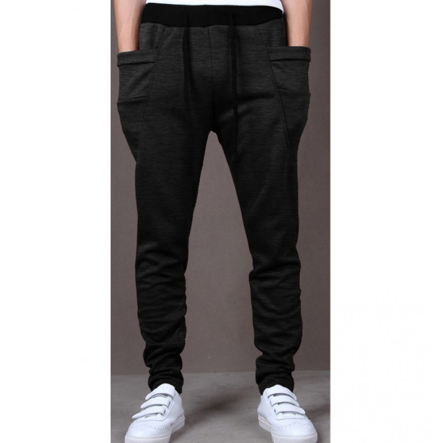 Pack of 2 Harem Casual Baggy Trouser