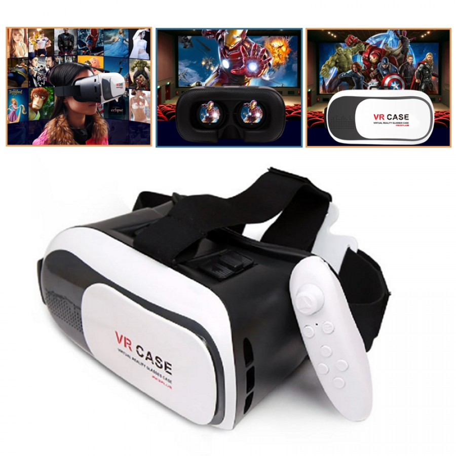Virtual Reality (VR) 3D Glasses