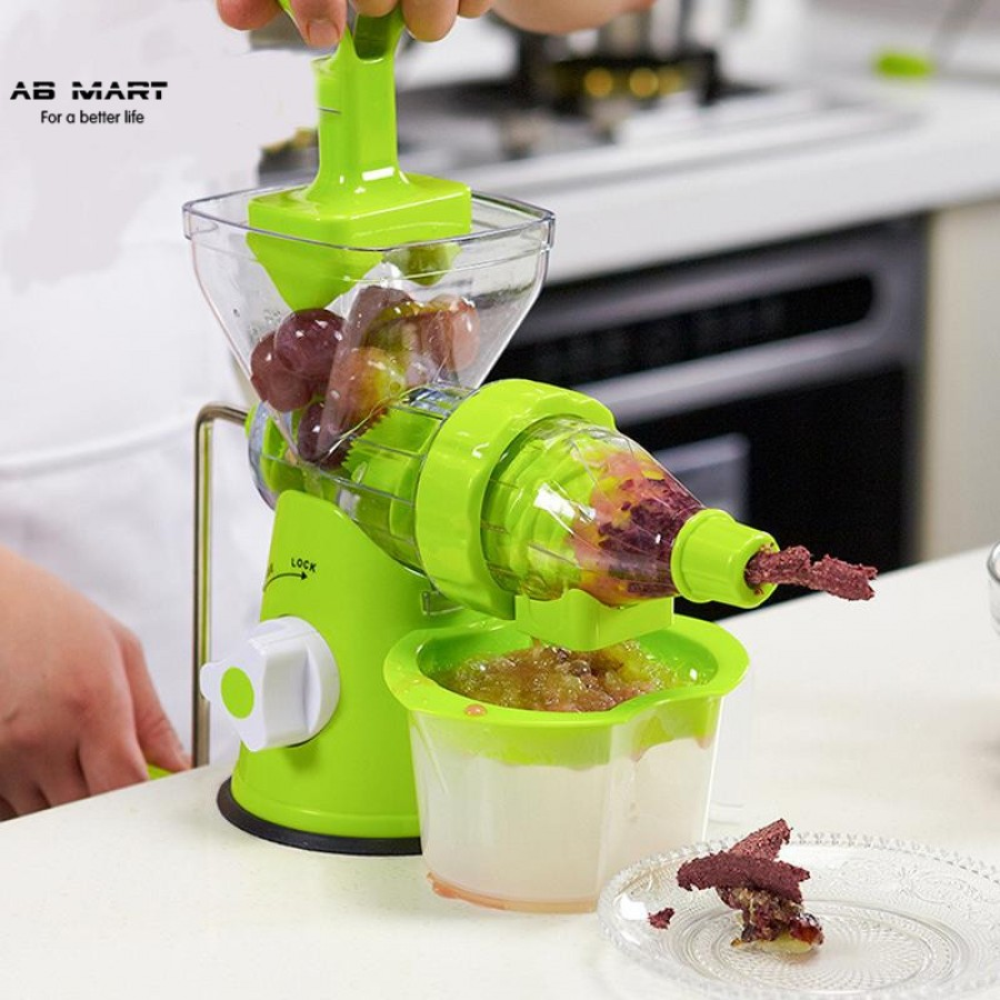 Manual Hand Juicer Machine