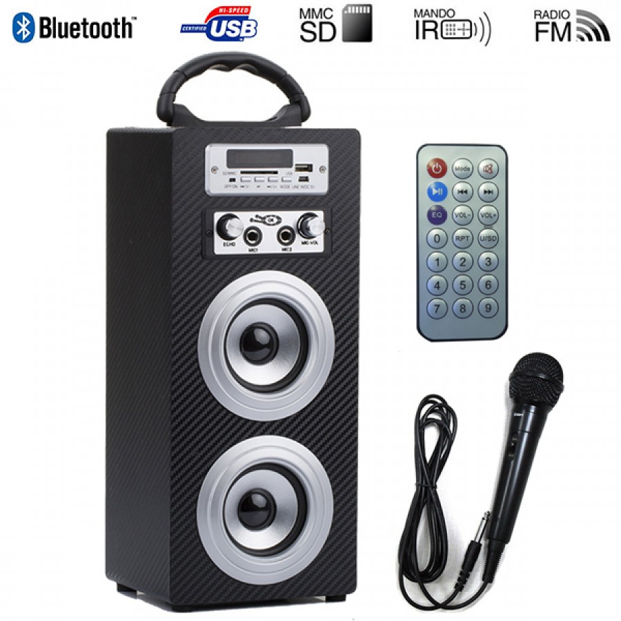 5 in 1 Multimedia Speaker With Mic