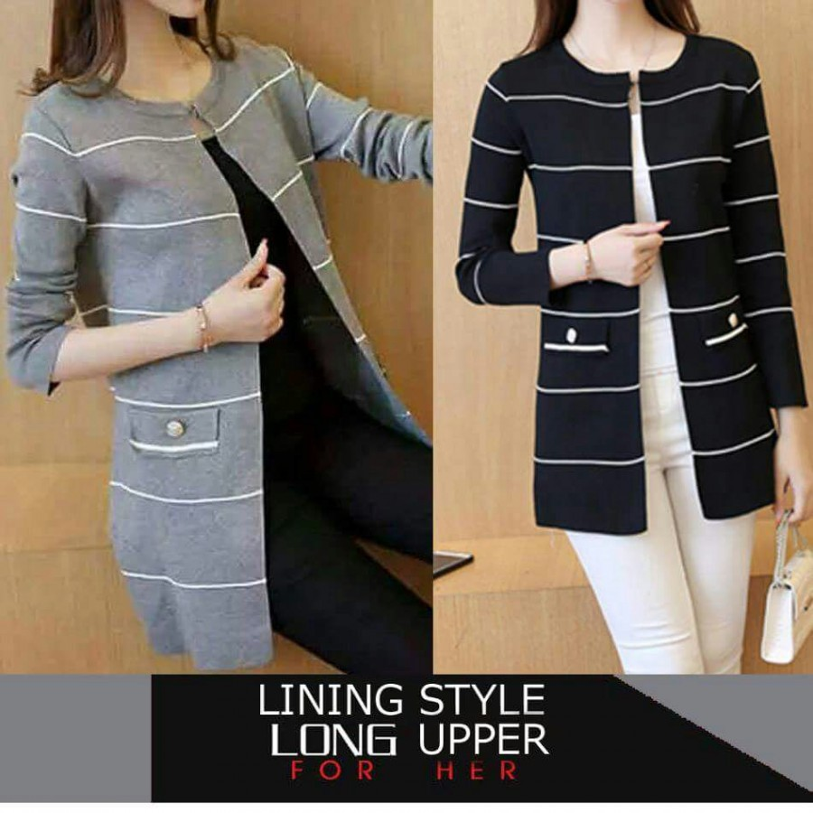 Lining Style Long Upper For Her