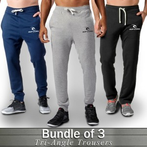 Pack of 3 Rip Curl Trousers