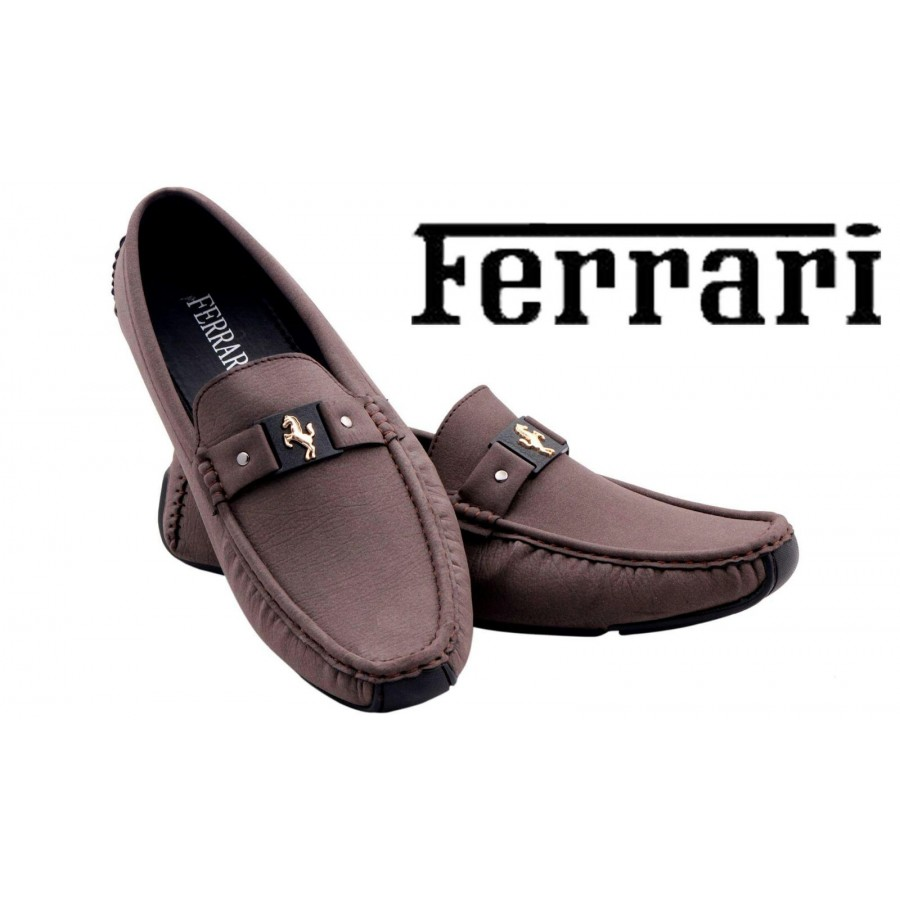 Ferrari Men Brown Shoes F7